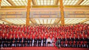 中国奥运代表团成立 名单包括396名奥运选手