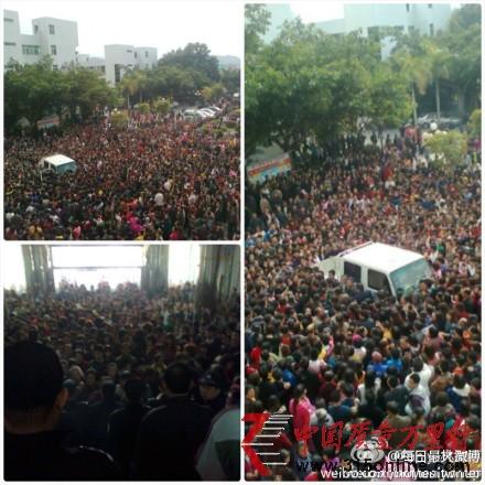 广东陆丰乌坎事件过程曝光
