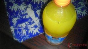 美之源果粒橙喝出异物