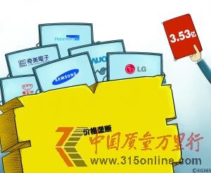 中国对境外企业价格垄断首开罚单