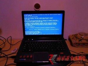 联想笔记本Y485问题频出,新机换完硬盘再换主板