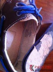 ZARA鞋子的鞋底纸做的 存在质量问题