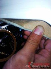 长安逸动车内顶棚材料是牛皮纸
