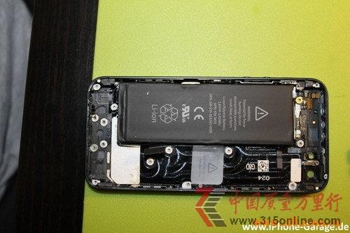 内置电池揭秘 苹果iphone5拆解报告出炉(组图)