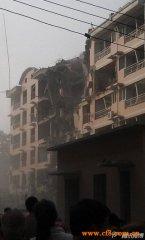 河北保定市居民楼发生爆炸案定为为刑事案 致1死34伤(图)