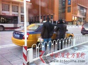 北京出租车拒载严重 司机不打表称不坐滚蛋