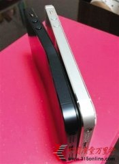 iphone5又现弯曲门 苹果称手机被坐弯不保修