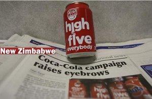 可口可乐广告非洲引争议