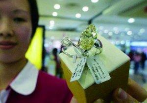 媒体揭钻石惊人价格内幕:万元钻戒批发价仅3千